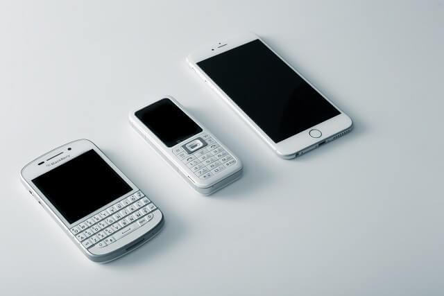 スマホと携帯