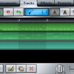 Music Studioアプリでベース・ピアノのMIDIデータをiPhoneのみ指1本で簡単打ち込むには?