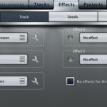 Music Studio iPhone アプリのエフェクト設定方法とは?ミックスダウンする詳しい方法