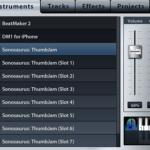 Music Studio iPhone アプリでInter-App audio経由で他の音源を使う詳しい方法
