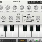 CausticアプリでベースとピアノのMIDIデータを直感的・簡単に打ち込める!