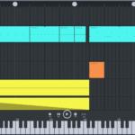 FL Studio Mobileはベースやリードシンセを超簡単にMIDIノート打ち込み出来る!