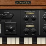 KORG Gadgetのヴィンテージオルガン音源 Alexandriaが暖かいリアルな音でJAZZにおすすめ!