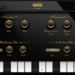KORG Gadgetのアコースティックピアノ音源 Salzburgが生音に近くて繊細な音で超リアル!