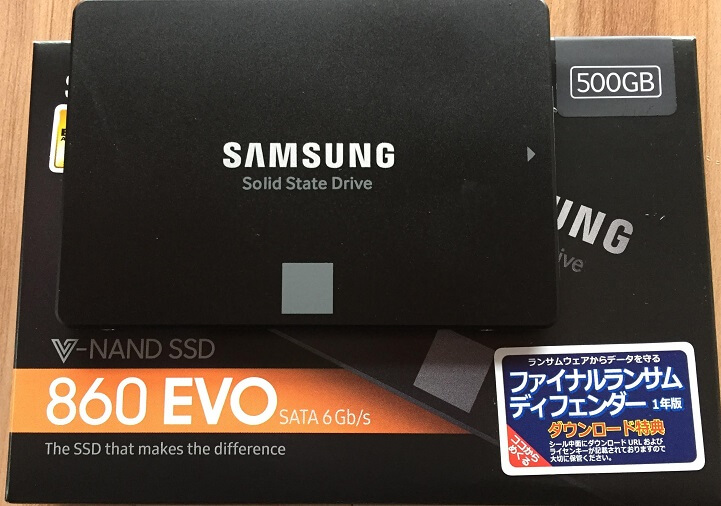 hdd から ssd