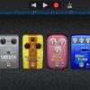 iPhone GarageBandアプリのAMPでエフェクター(ストンプボックス)を使う詳しい方法とは?