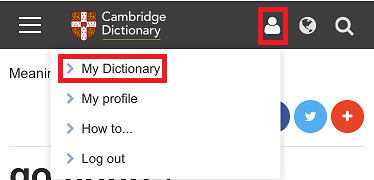 Cambridge-Dictionary