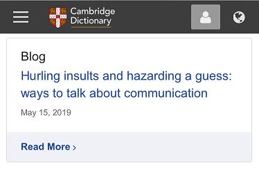 Cambridge-Dictionary