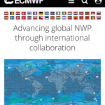 ヨーロッパ中期予報センターECMWFで10日先までの台風予報を見る方法