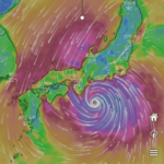 無料のWindy.comアプリで台風情報が10日後まで確認できる!詳しい見方とは?